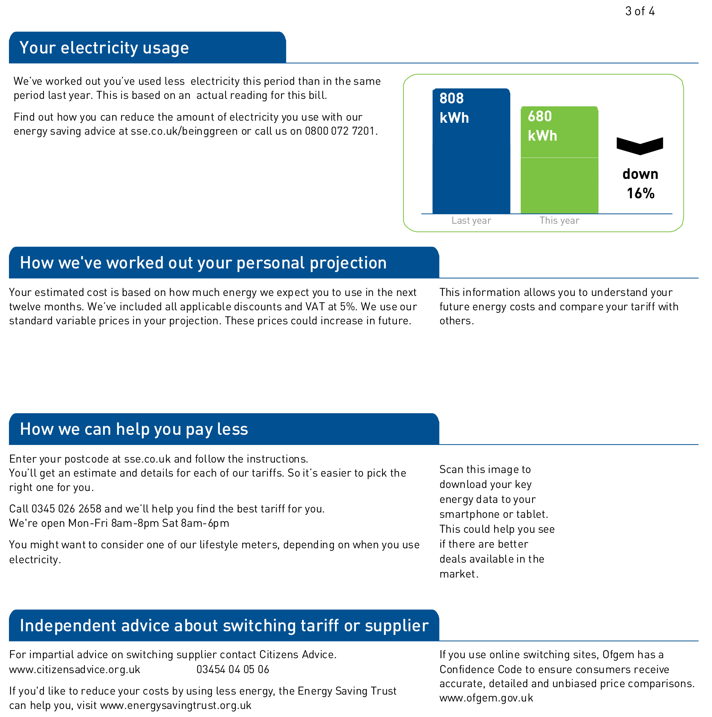 SSE energy bill page 3