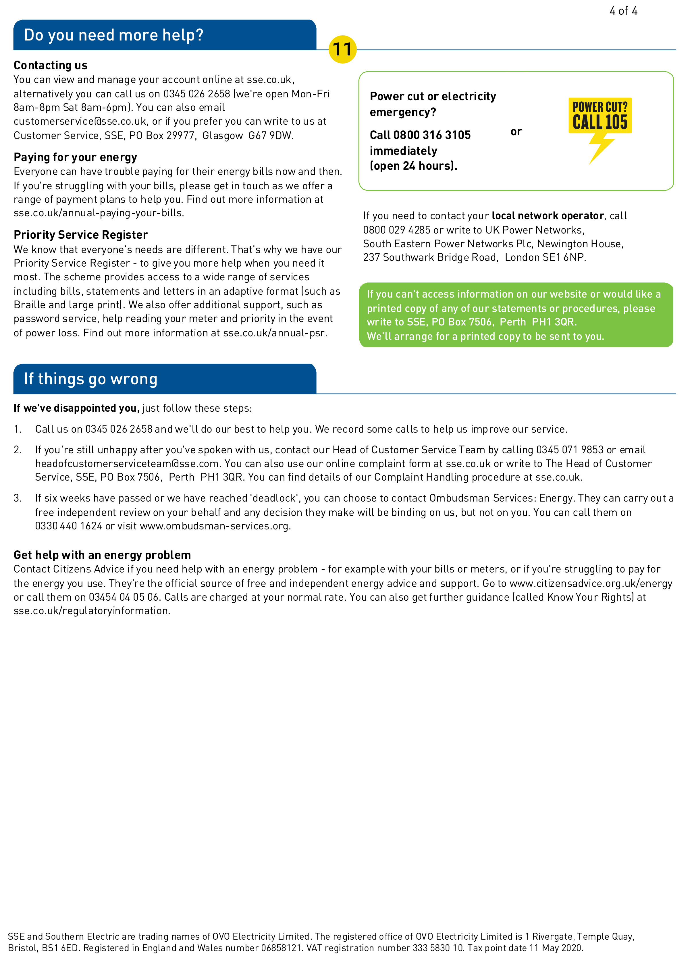 SSE energy bill page 4