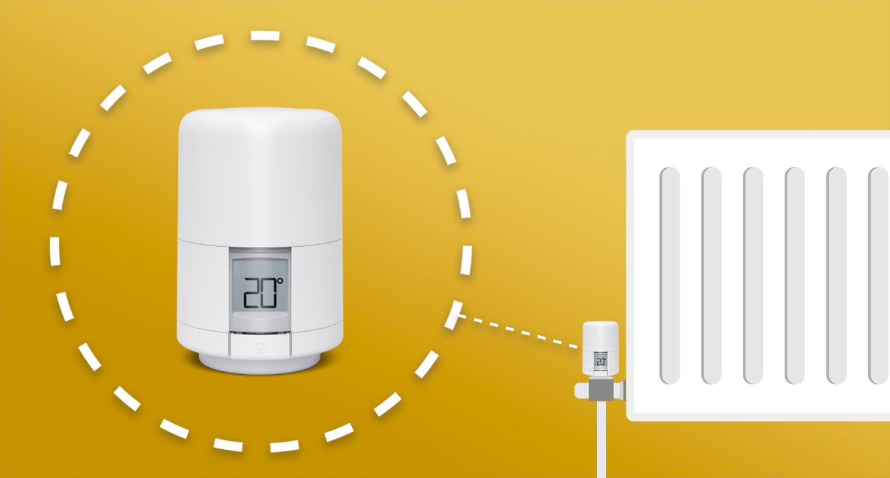 What should you choose, Hive or Nest heating products: A Hive Radiator Valve image